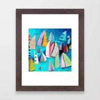 Regatta Segelbilder Mari… Framed Art Print