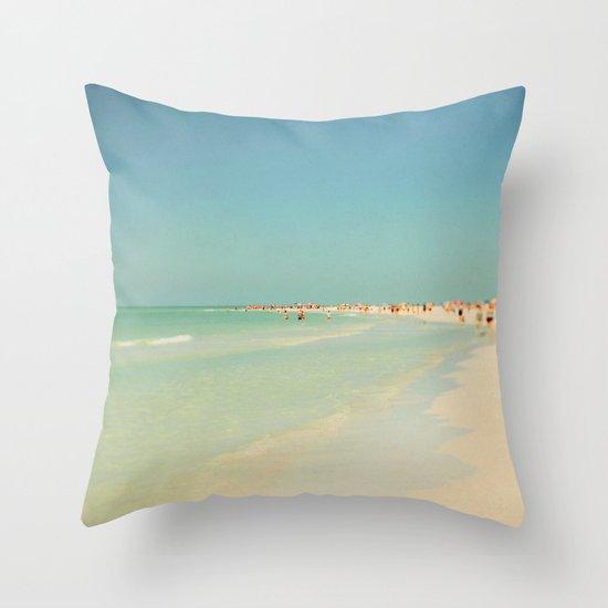Siesta #3 Throw Pillow
