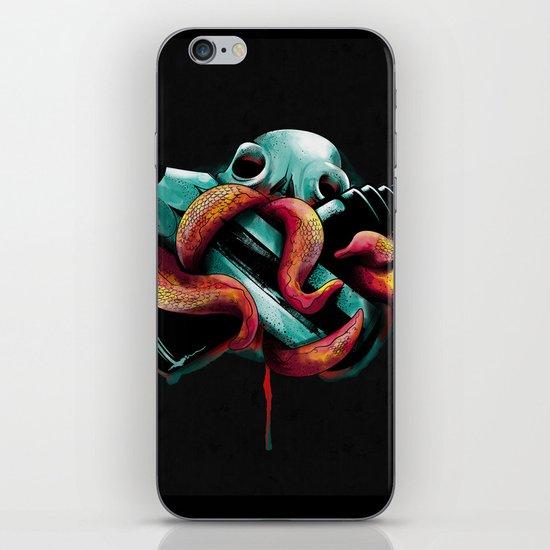 Diabolik Weapons iPhone & iPod Skin