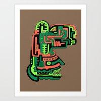 Dimensional Being Art Print