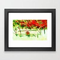 Tedder Hit The Hay Framed Art Print