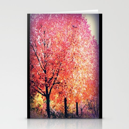 Autumn Tree Stationery Card