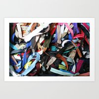 Zippers Art Print