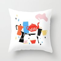 Calendar 2014 Throw Pillow
