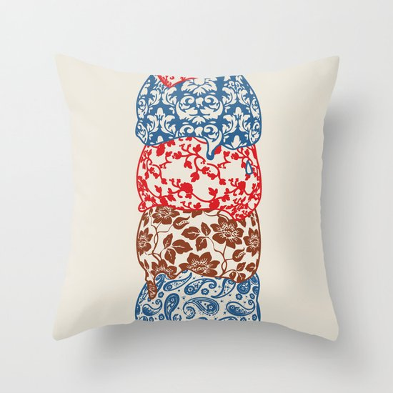 Royale Scoop Throw Pillow
