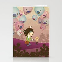 Balloon Tree Song Stationery Cards