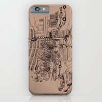 iPhone & iPod Case featuring The Island by Ursula Rodgers