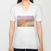 Sunrise & Sunset Unisex V-Neck