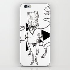 Bag iPhone & iPod Skin