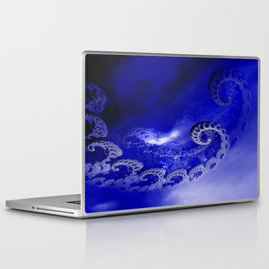 Fear of the Darkness Laptop & iPad Skin