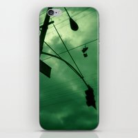 Shoes And Wires iPhone & iPod Skin
