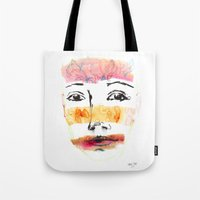 Head Shot #3 Tote Bag