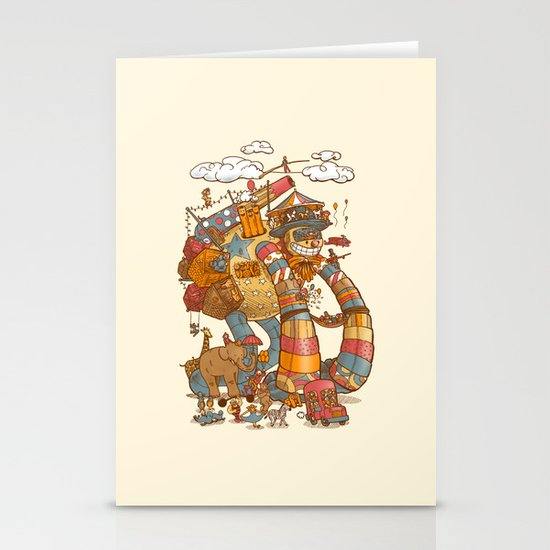 Circusbot Stationery Card