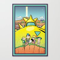 We Are Earthbound Canvas Print