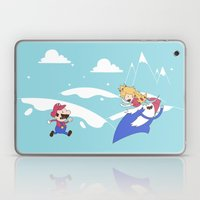 Mario's Adventure Time Laptop & iPad Skin