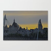 Summer(sun)set Canvas Print