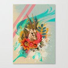 Beauty Antilope Canvas Print