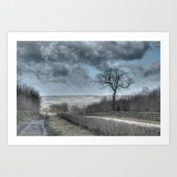 Tree By The Gallop Art Print