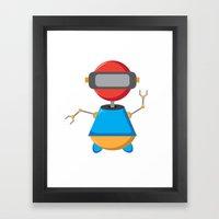ROBOT SI Framed Art Print