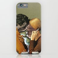 iPhone Cases featuring A Creek Between Us by Eugenia Loli