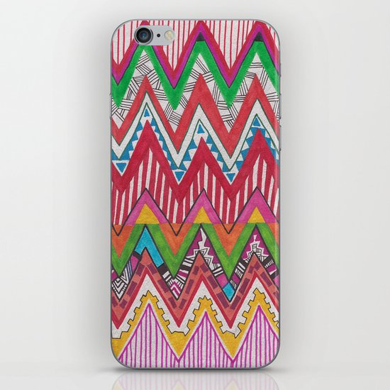 Peruvian Waves iPhone & iPod Skin