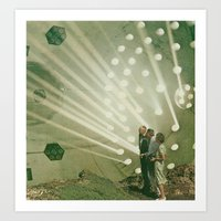 The Light Pours Out Of M… Art Print