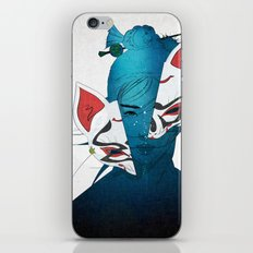 Fox Mask iPhone & iPod Skin