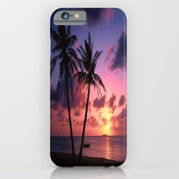 iPhone Cases featuring Atardecer by Sankakkei SS