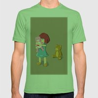 The Selected Mens Fitted Tee Grass SMALL