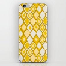 Almas diamond ikat gold iPhone & iPod Skin