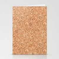 Real Cork Stationery Cards
