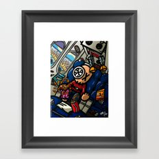 Un vol sans retour Framed Art Print