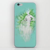 Love as Pain - Anahata in the heart iPhone & iPod Skin