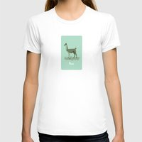 4-legged Exotica Series:… Womens Fitted Tee White SMALL