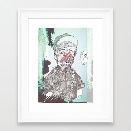 THE ETERNAL CHAMP Framed Art Print
