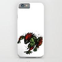 Blanka Rush! - Street Fighter iPhone 6 Slim Case