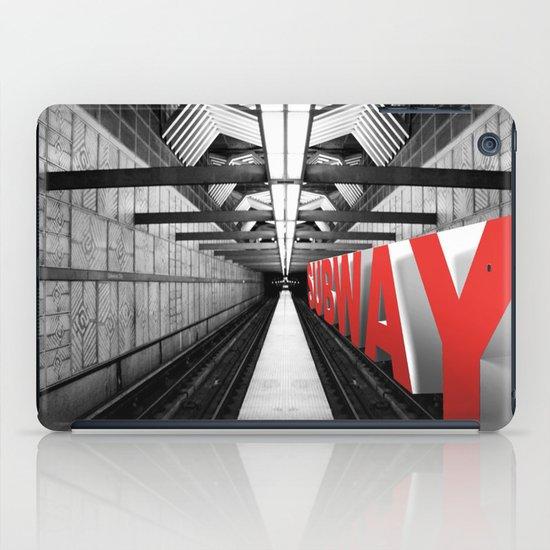LA subway iPad Case