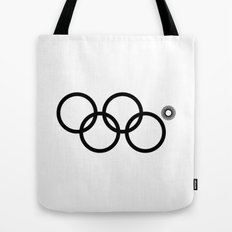 Olympic games logo 2014. Sochi. Tote Bag