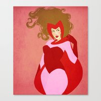 The Scarlet Witch Canvas Print