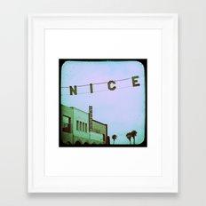 Nice Framed Art Print