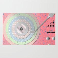 Vinyl-Turntable Rug