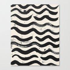 ONE / Cream Canvas Print