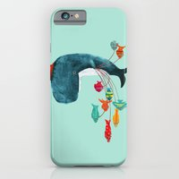fish iPhone & iPod Cases featuring My Pet Fish by Picomodi