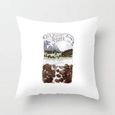 Feel Yourself At Home Throw Pillow