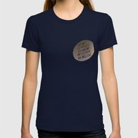 eyes which shine Womens Fitted Tee Navy SMALL
