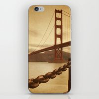 Vintage Golden Gate iPhone & iPod Skin