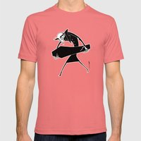 Nosferatu Mens Fitted Tee Pomegranate SMALL