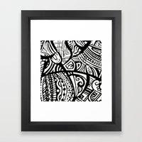 Abstractish 1  Framed Art Print