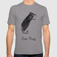 Sunshine Mens Fitted Tee Athletic Grey SMALL