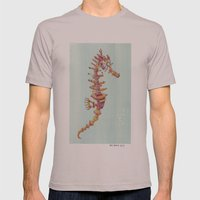 Seahorse Mens Fitted Tee Cinder SMALL